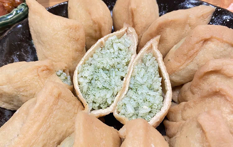 モリンガ乾燥葉(茶葉)の美味しい食べ方【お寿司】